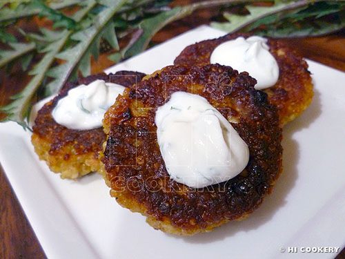 Curried Quinoa Patties